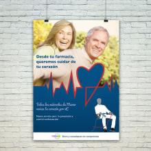 Campaña Prevencion de Riesgos Cardiovasculares. Um projeto de Design gráfico e Publicidade de Sara Palacino Suelves - 26.04.2015