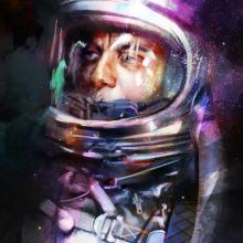 Astroman. Un proyecto de Ilustración de Jose Barrero - 03.05.2015