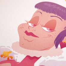 Reina de Corazones. Un proyecto de Ilustración, Dirección de arte, Diseño de personajes y Diseño gráfico de La Trastería - 12.05.2015
