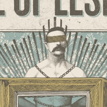 Love of Lesbian. A Illustration, Graphic Design, Screen-printing, and Collage project by Xavi Forné - 05.18.2015