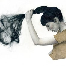 """""""Tangles"""". A Illustration, Editorial Design, and Fashion project by ELimRUFAT - 05.23.2015"""