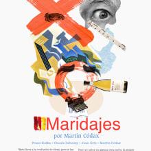 MARTÍN CÓDAX. Un proyecto de Collage, Diseño e Ilustración de mauro hernández álvarez - 21.05.2015