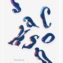 JACKSON. Un proyecto de Ilustración, Dirección de arte, Diseño gráfico y Tipografía de mauro hernández álvarez - 21.05.2015
