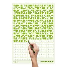 Life Calendar: Healthy Lifestyle. Um projeto de Design, Direção de arte, Design gráfico e Design de produtos de Raquel Catalan - 24.05.2015