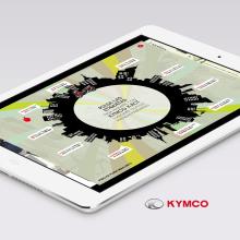 KYMCO K-XCT. A Web Development project by Julieta Kozlowski Cherñajovsky - 03.16.2015