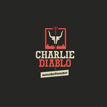Logotipo - Charlie Diablo Smokehouse. Um projeto de Design gráfico de Victor Andres - 07.06.2015