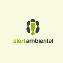 Logotipo - Alert Ambiental. Um projeto de Design gráfico de Victor Andres - 04.06.2015