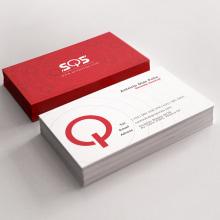 Tarjetas de presentación - SQS. Um projeto de Design gráfico de Victor Andres - 12.06.2015