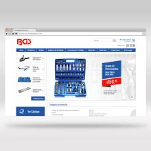 Website - BGS Technic. Um projeto de Web design de Victor Andres - 01.06.2015