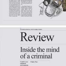 INSIDE THE MIND OF A CRIMINAL. Un proyecto de Diseño, Ilustración y Diseño editorial de Jaqueline Vanek - 08.06.2015
