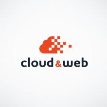 Logotipo - Cloud & Web. Um projeto de Design gráfico de Victor Andres - 04.06.2015