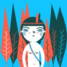 Mi Proyecto del curso Ilustración original de tu puño y tableta. Un proyecto de Ilustración de Berta Fortet Berne - 13.06.2015