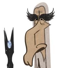 CHRISTOPHER LEE. Un proyecto de Ilustración de David García Vivancos - 15.06.2015