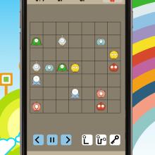 Cuties Flow - iPhone game. A Kunstleitung, Spieldesign und Grafikdesign project by Harold Zaragoza Saldias - 15.06.2015