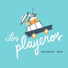 Los playeros. Un proyecto de Ilustración, Diseño gráfico y Serigrafía de i g l o o - 17.06.2015