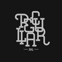 Lettering for Peculiar PPL. Un proyecto de Caligrafía, Diseño gráfico y Tipografía de Dario Trapasso - 23.06.2015