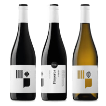Vinos Pinyeres. Um projeto de Design gráfico e Packaging de Atipus - 28.06.2015
