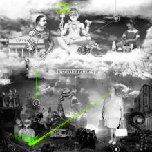 La guerra de las marcas. Un proyecto de Diseño, Animación y Collage de Ms. Barrons - 28.06.2015