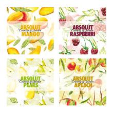 Absolut Packaging. Um projeto de Ilustração, Design gráfico e Packaging de SOFÍA ALMAZÁN GAZOL - 04.07.2015