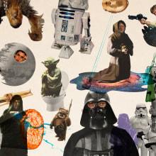 Collage Wars. Um projeto de Colagem, Design gráfico e Ilustração de Gonzalo Sainz Sotomayor - 05.07.2015