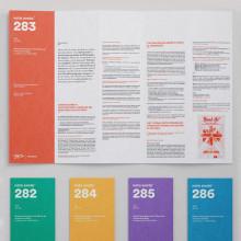 Boletín nota anota¯. Um projeto de Br, ing e Identidade, Design de informação e Design editorial de Rubén Montero - 13.07.2015