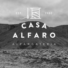 Casa Alfaro. Um projeto de Design, Br, ing e Identidade, Moda, Design gráfico, Packaging e Design de calçados de María Sanz Ricarte - 14.09.2014