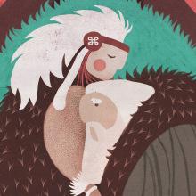 SOMNIUM, eBook ilustrado.. A Illustration und Design von Figuren project by Román García Mora - 19.07.2015