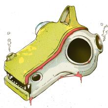 Animal Faces Anatomy. Un proyecto de Diseño de personajes e Ilustración de Óscar Lloréns - 26.07.2015