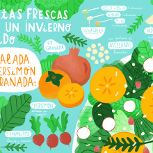 Horchata Magazine - 3 Recetas para Horchata 3 . A Illustration project by ana seixas - 01.05.2015