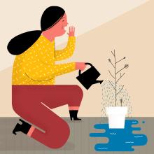 Mariamélia . A Illustration project by ana seixas - 05.06.2015