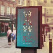BRANDING - La Rana con Pelo. A Design, Br, ing, Identit, and Graphic Design project by Concepción Domingo Ragel - 08.10.2015