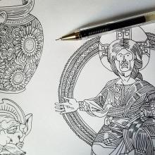 CUADERNOS DE VIAJE VUELING. Un proyecto de Ilustración, Diseño editorial y Paisajismo de Juan Díaz-Faes - 11.08.2015