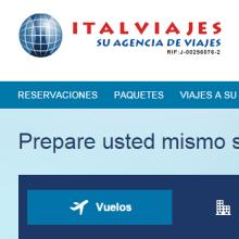 Re - Diseño de la Página de Italviajes. Un proyecto de Informática, Br, ing e Identidad y Desarrollo Web de Joel Astete - 12.02.2015