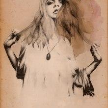 Cara Delavigne. Un proyecto de Diseño, Ilustración y Bellas Artes de Lucía Paniagua - 13.08.2015