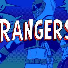 The Rangers. Un projet de Illustration, Cinéma, vidéo et télévision, B, e dessinée , et Télévision de Eneri Mateos - 16.08.2015