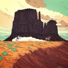 Caramanchada. Un proyecto de Ilustración de Jon Juarez - 01.05.2017