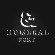 Humbral Slab Free Font. Un proyecto de Dirección de arte, Diseño y Tipografía de Dario Trapasso - 19.09.2014