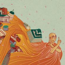 Vuela, Iván. A Illustration project by Nicolás Castell - 02.24.2015