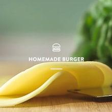 A burger in #140frames. Um projeto de Culinária de Christian Baumgartner - 28.08.2015