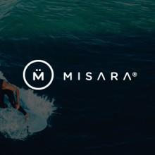 Misara Clothing Co.. Um projeto de Direção de arte, Br, ing e Identidade e Design gráfico de Pablo Chico Zamanillo - 01.09.2015