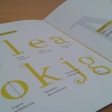 Tipografía Limón. Um projeto de Tipografia de Alicia Menal - 06.09.2015