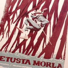 Vetusta Morla - Poster. Um projeto de Ilustração, Eventos e Design gráfico de Juan Esteban Rodríguez - 06.09.2015
