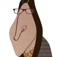 AMY FARRAH FOWLER. Un proyecto de Ilustración de David García Vivancos - 12.09.2015