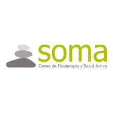 Logotipo y Flyers Soma centro de fisioterapia y salud activa. Um projeto de Design gráfico e Publicidade de Sara Palacino Suelves - 18.09.2015