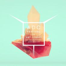 Art Director Club Festival Awards 2014 ID's. Um projeto de 3D, Direção de arte e Design de títulos de crédito de TAVO STUDIO - 21.09.2015
