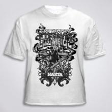 T-shirt Nasta. Un proyecto de Diseño, Ilustración y Tipografía de Ms. Barrons - 27.09.2015