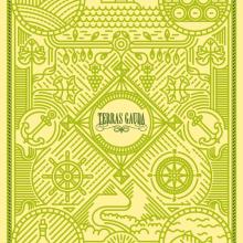 Cartel Terras Gauda 2015. Viñas y Líneas. Um projeto de Design gráfico e Ilustração de Salmorejo Studio - 29.09.2015