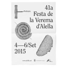 Alella - Fiesta de la vendimia 2015. Um projeto de Br, ing e Identidade, Eventos e Design gráfico de Atipus - 12.10.2015
