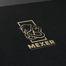 Logotipo - Mexer. Um projeto de Design gráfico de Victor Andres - 05.06.2015