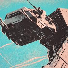 The Empire Strikes Back - Star Wars Poster. Um projeto de Ilustração e Serigrafia de Juan Esteban Rodríguez - 13.10.2015